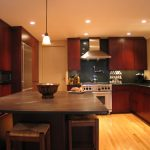 Contemporary Style Kitchen in a Metropolitan Home1