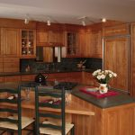 Cozy L Shaped Kitchen with Island Cook Top1
