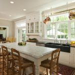Formal Kitchen with High Ceilings1
