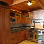 Mission Style Kitchen in a Post and Beam Home2