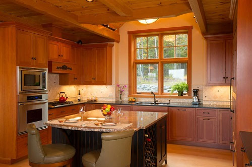 kitchen image linking to door styles page